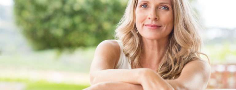 a woman healthy ageing