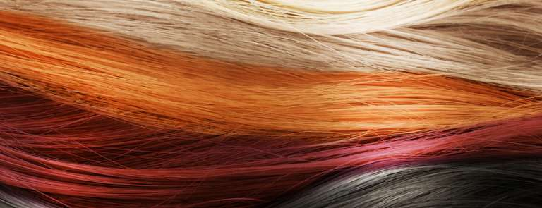 different hair dye colours