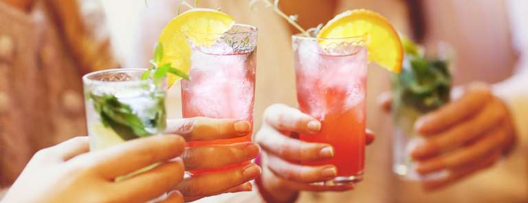 mocktails at party
