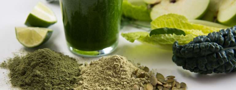 juice cleanse with superfood powders
