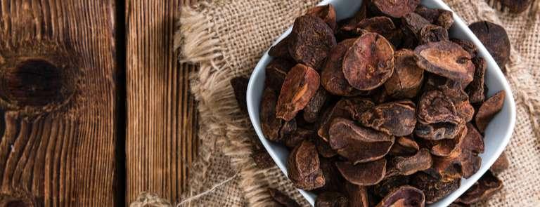a bowl of kola nuts