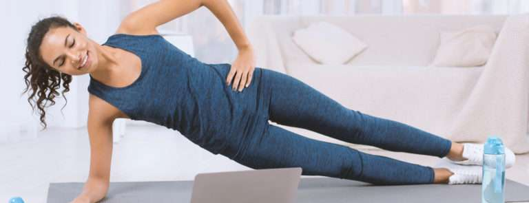 core exercises side plank