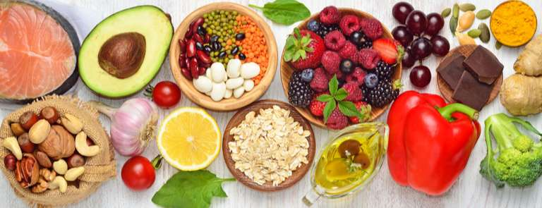 spread of nutritional foods