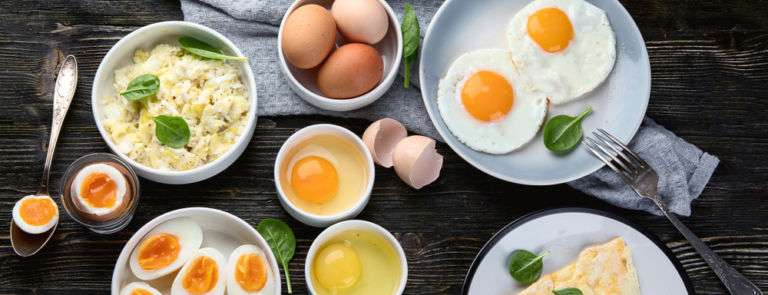 different ways of cooking egg